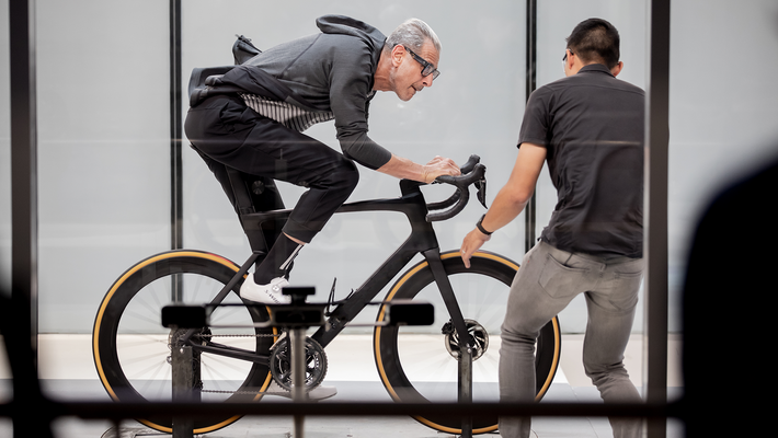 Bikes are one of a suite of idiosyncratic subjects Goldblum explores in the new show.