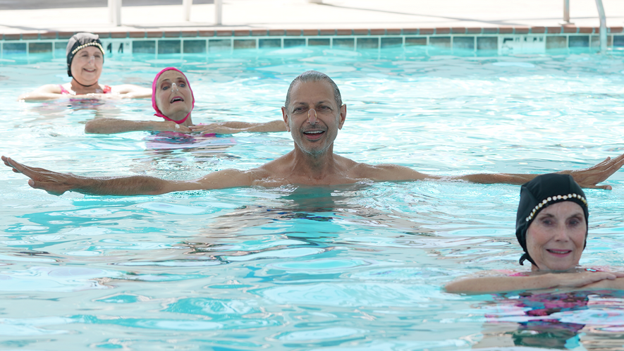 In 'Pools,' Goldblum explores the story behind our love of the domestic swimming pool.