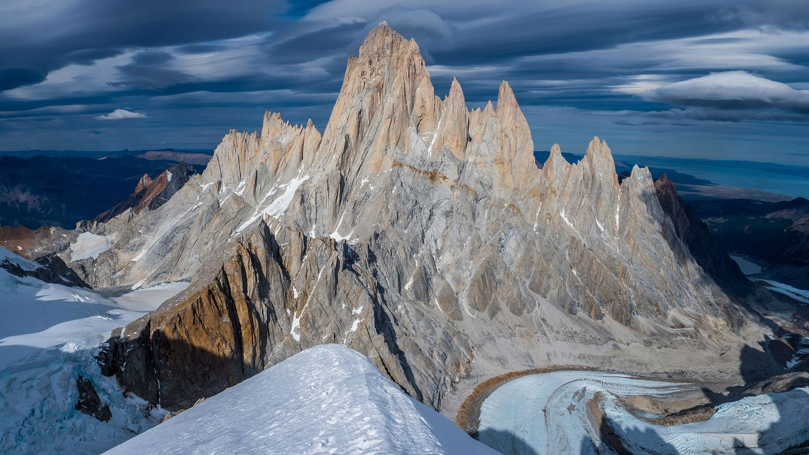 The iconic spires of the Fitz Roy Massif have tempted many climbers. In 2002, the late ...
