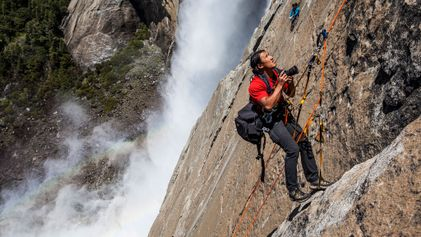 The man behind Free Solo's lens: Jimmy Chin