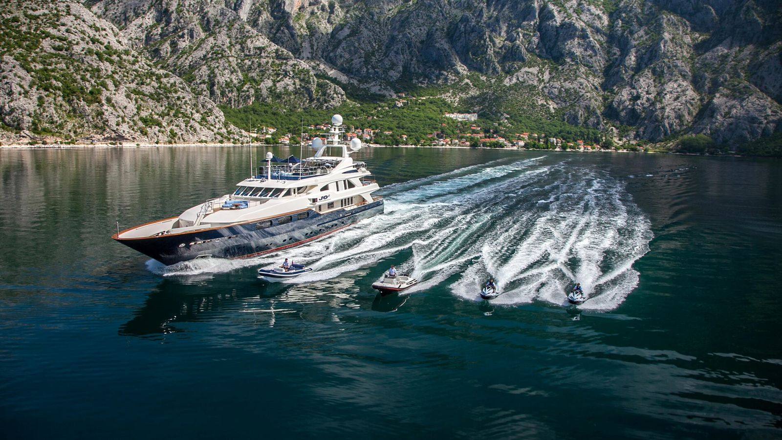 Built in 2004 by the renowned Benetti shipyard, JO I is a magnificent 50m motor yacht ...