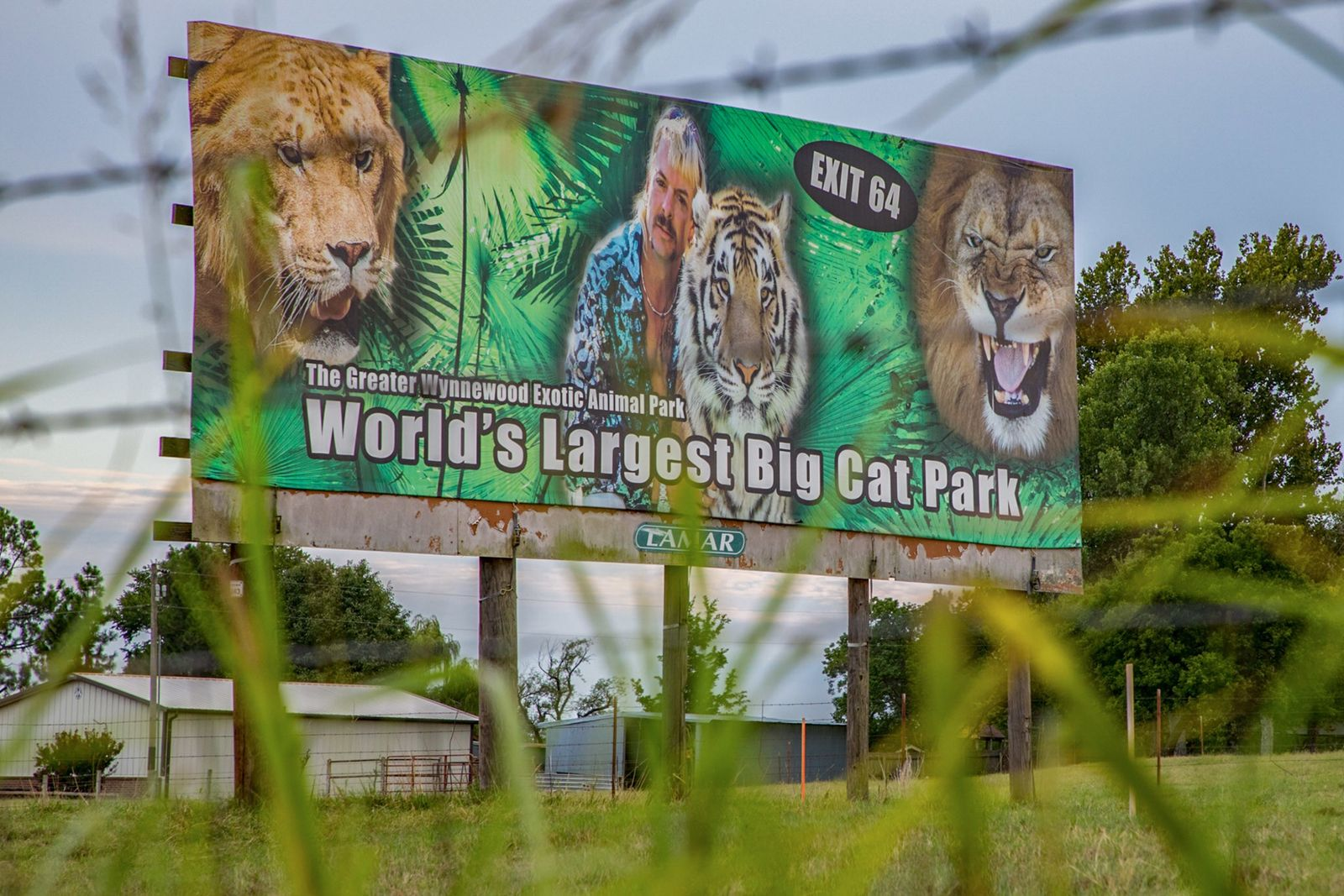 Court orders Joe Exotic's former zoo be relinquished to Carole Baskin