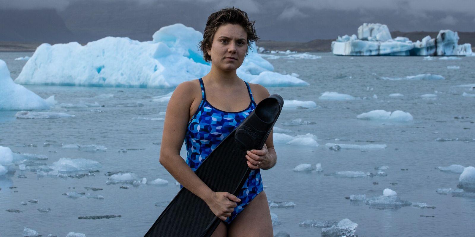 Meet the adventurer: ice freediver Kiki Bosch on the transformative power of the ocean