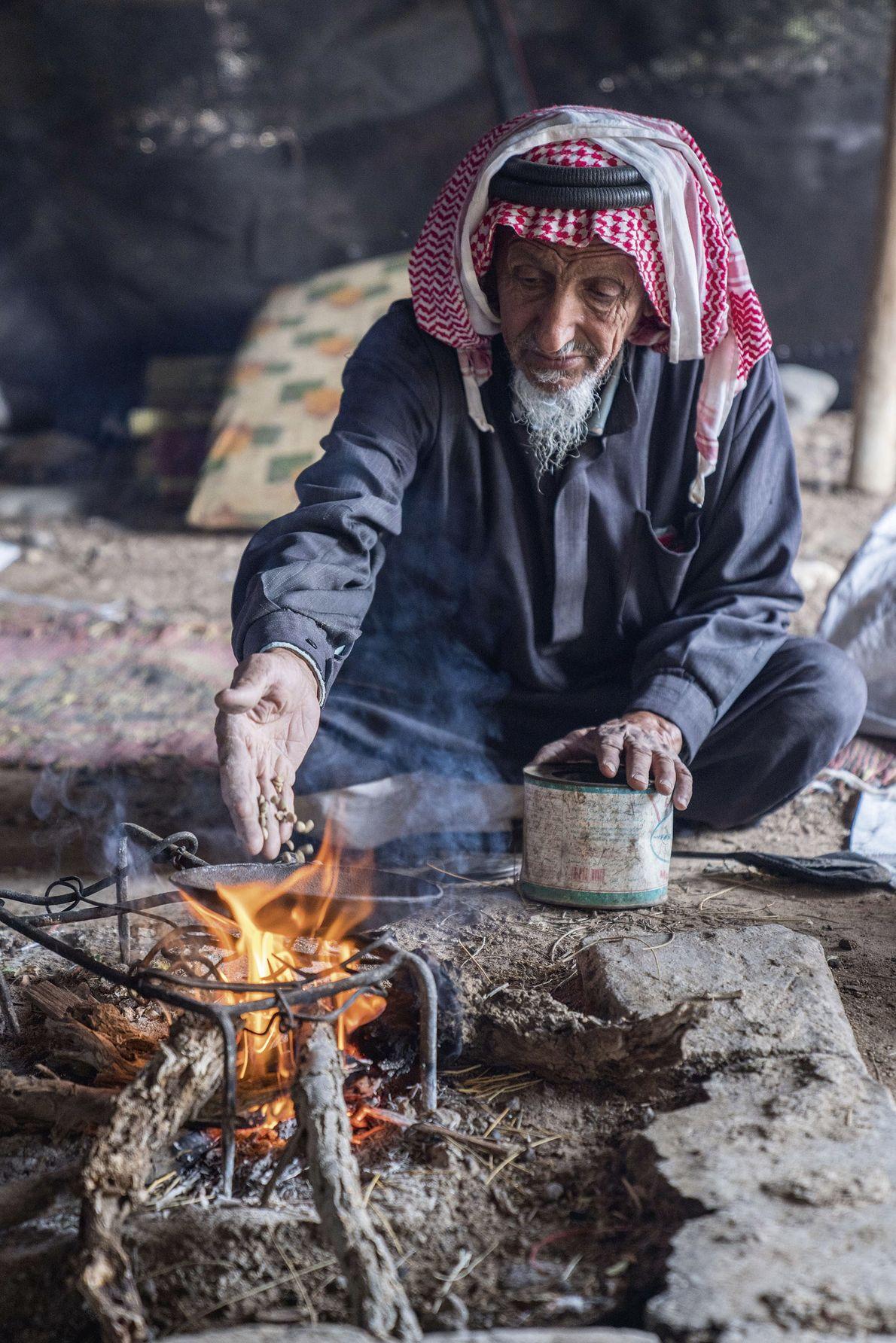 Bedouin hospitality.