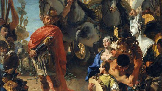 Jugurtha in chains. Giovanni Battista Tiepolo, 1729. Metropolitan Museum of Art, New York