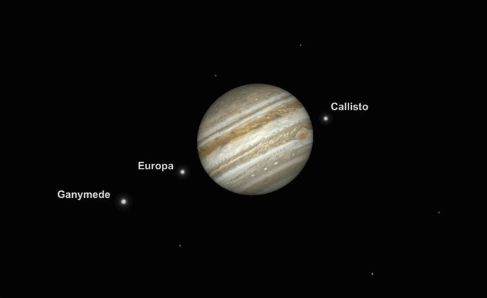 Jupiter will be at its biggest and brightest on June 10, making for an attractive viewing ...