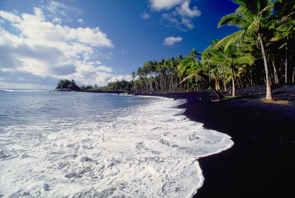 Kaimu Beach, Hawaii