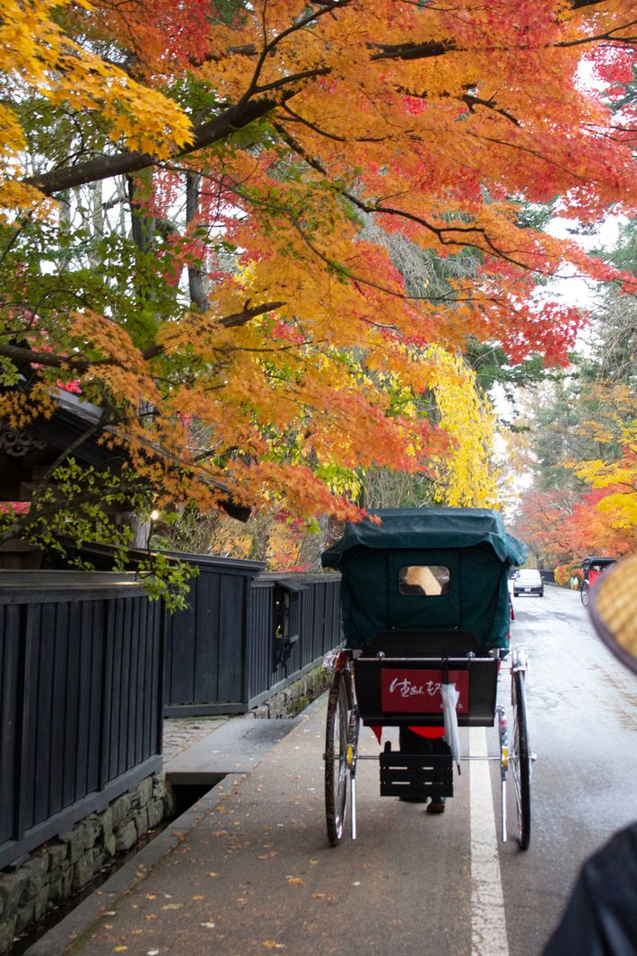 The handsome little town of Kakunodate is also known as Little Kyoto.