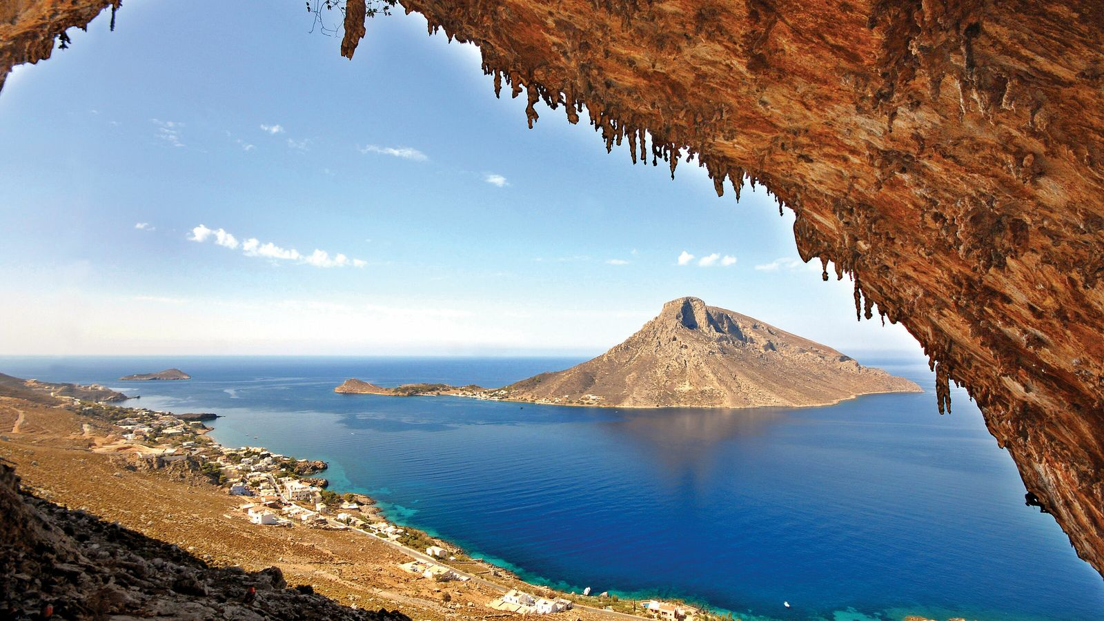 In Kalymnos, there are over 3,500 rock climbing routes to be tackled, and the best locations ...