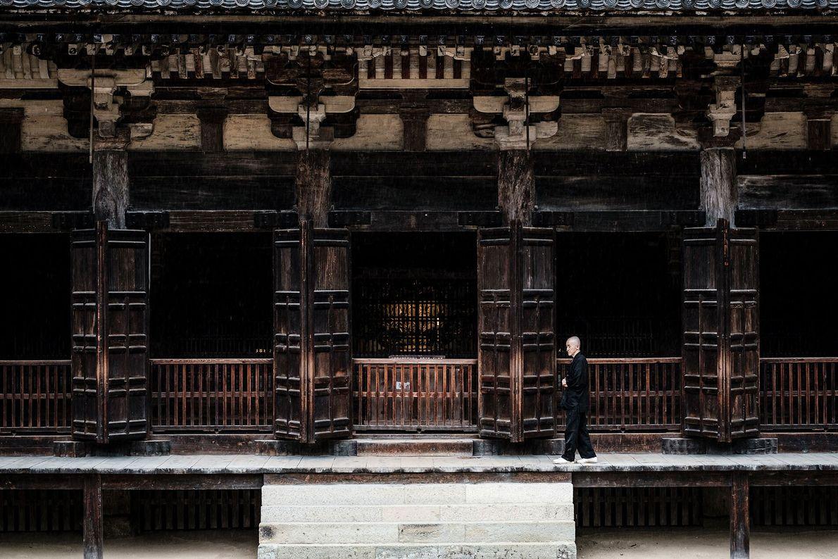 Shunyu Kaneko is a monk at Shoshazan Engyo-ji. He came to the temple 20 years ago as ...