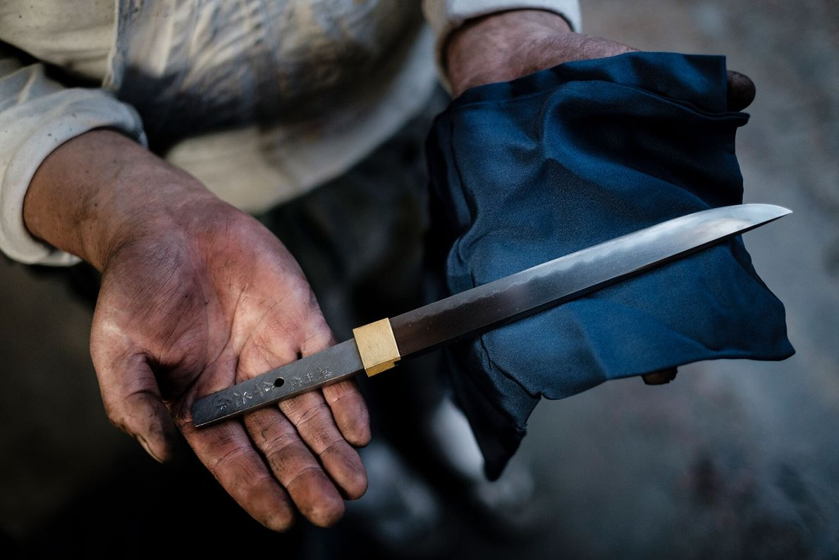 In Hyogo, travellers have the opportunity to forge a samurai sword with Kikyo Hayamitsu, a master tosho ...