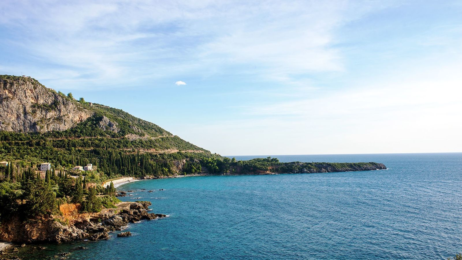 Greece's southern prong, Outer Mani, haspostcard-pretty villages like Kardamyli and Stoupa dotted along its rugged, empty ...