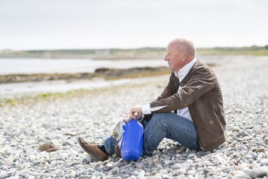 Bill Dale, founder of Beach Buddies, began a Facebook page calling for volunteers to join a ...