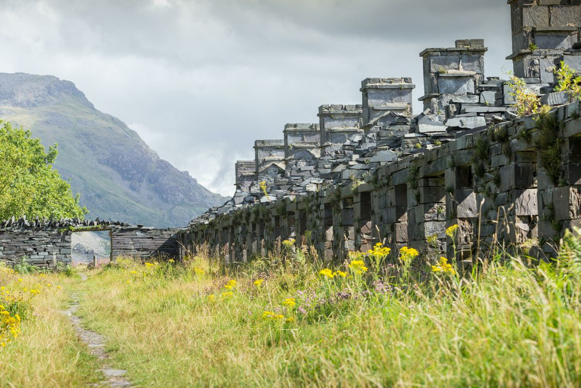 Anglesey Barracks, where workers from Dinorwic Quarry would live during their working week.
