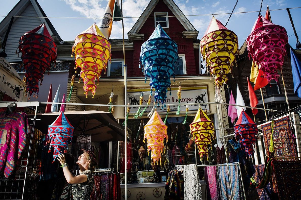 The Kensington Market neighbourhood has a long history in the city as a first stop for ...