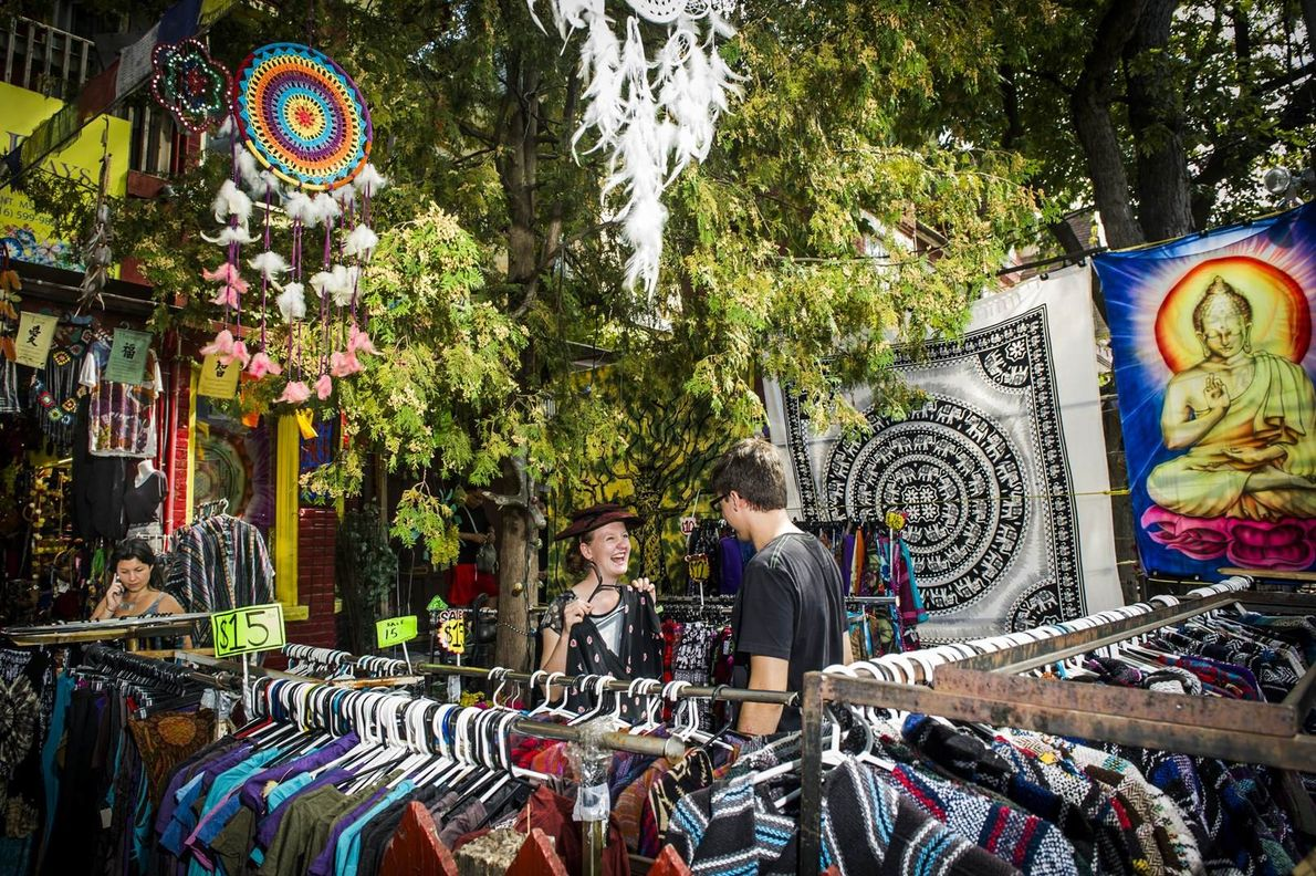 Kensington Market is where vintage shopping buffs can find some great options.