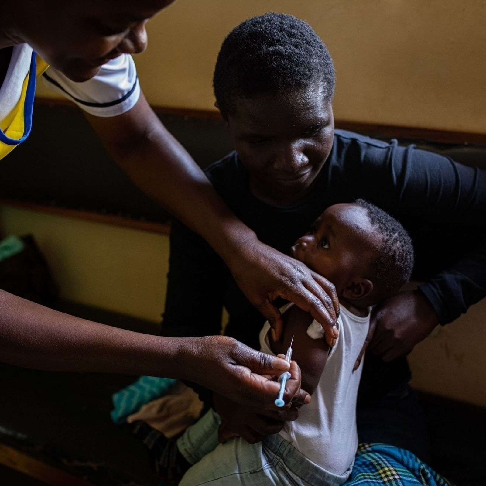 Across Kenya, Malawi, and Ghana, babies under two are receiving the world's first-ever malaria vaccine for ...