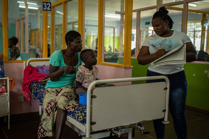 Four-year-old Sheila Musungu came down with malaria at Kakamega Teaching and Referral Hospital, where she had ...
