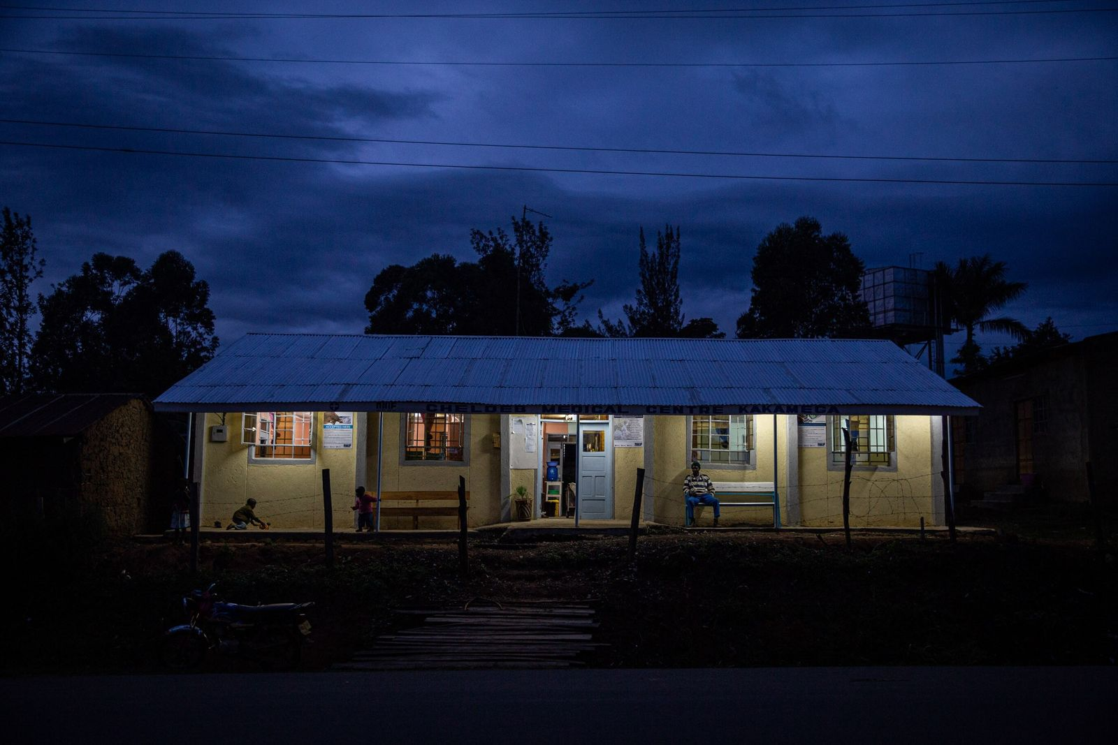 Private clinics like Cheldeb Medical Center in Kakamega, Kenya account for the majority of anti-malaria treatment ...