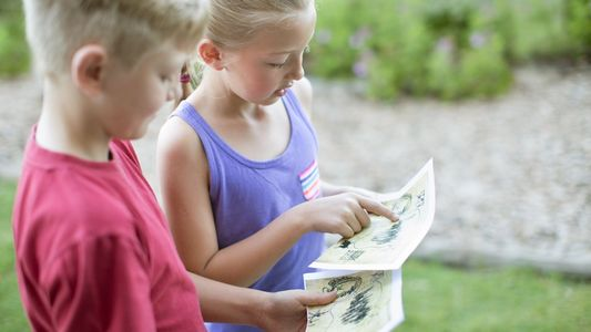 Kids can't explore the world right now. Have them map it instead.
