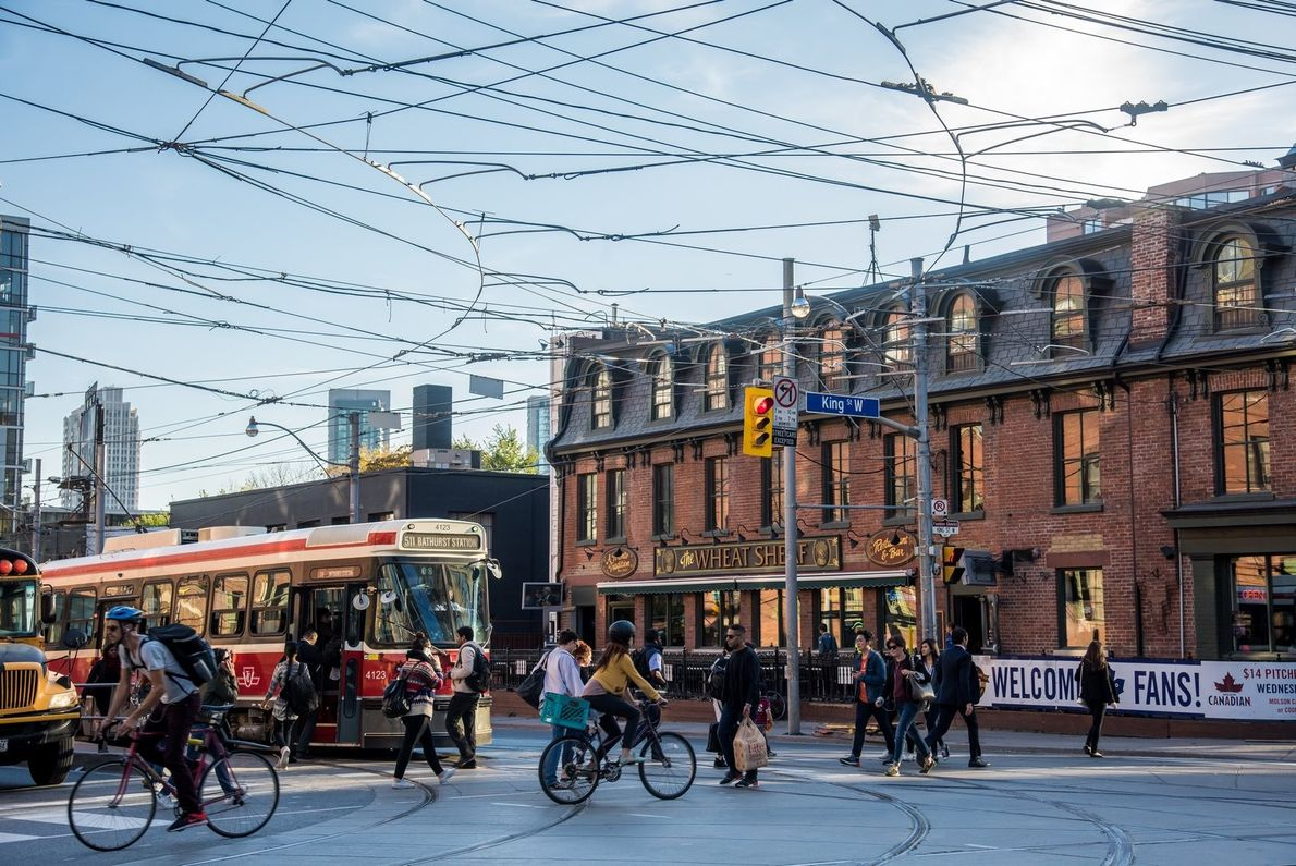 The King West neighbourhood offers a true downtown Toronto experience and is known for its trendy ...