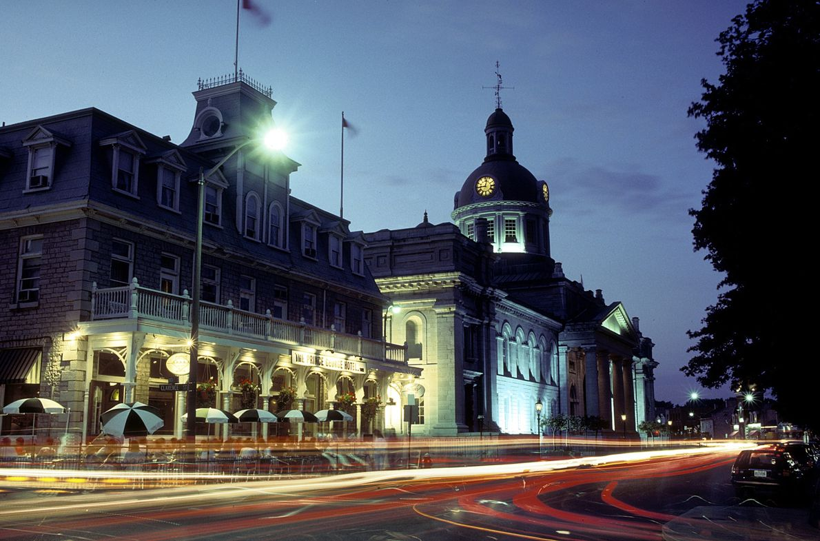 Kingston City Hall is a national historic site built in 1844 with tours available between May ...