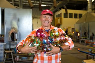 Kitras Glass Studio is family run and is Canada's largest hot glass studio.