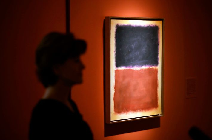 This forged Mark Rothko painting was part of an art dealer's 15-year scam that fooled collectors ...