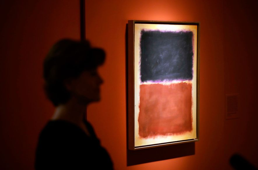 This forged Mark Rothko painting was part of an art dealer's 15-year scam that fooled collectors …