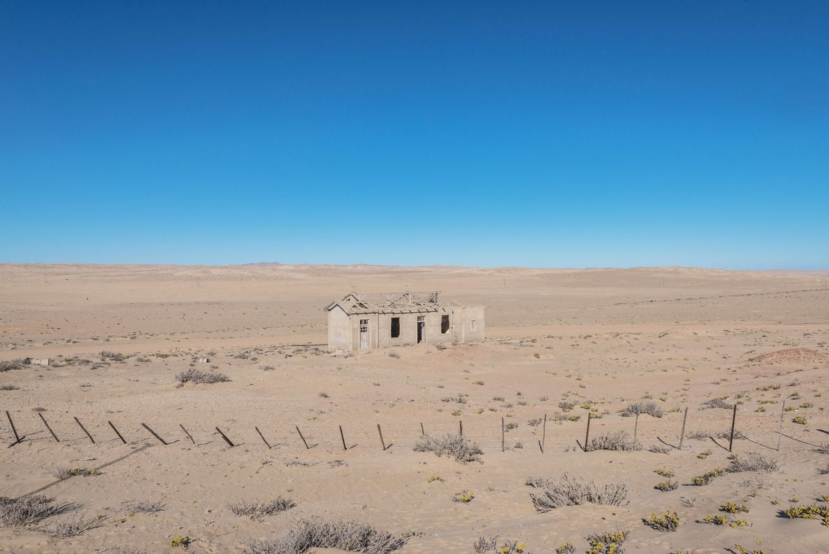 The area's name seemed to portend its fate: It was called Kolmanskop, or Kolman's Knoll, after ...