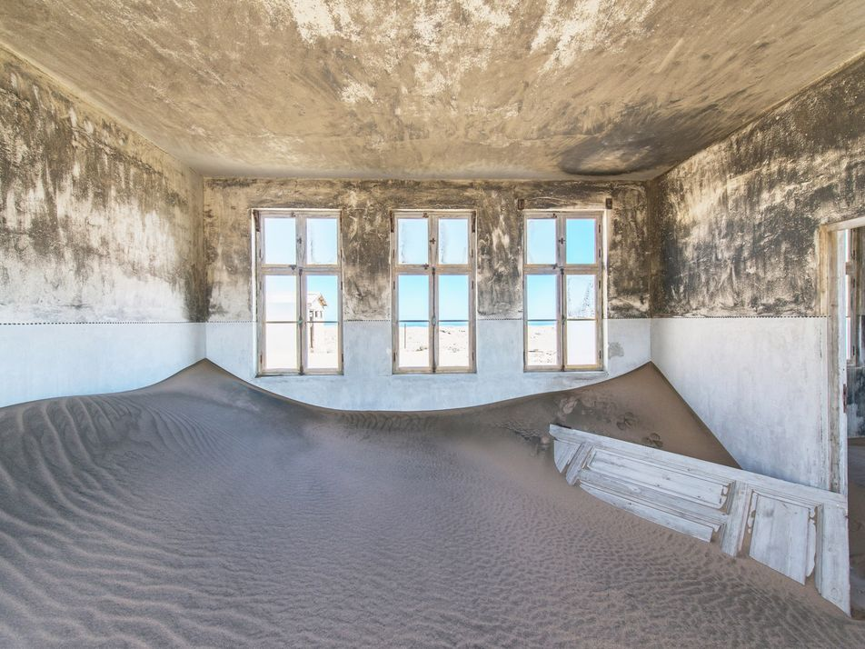 See eerie pictures inside a Namibian ghost town