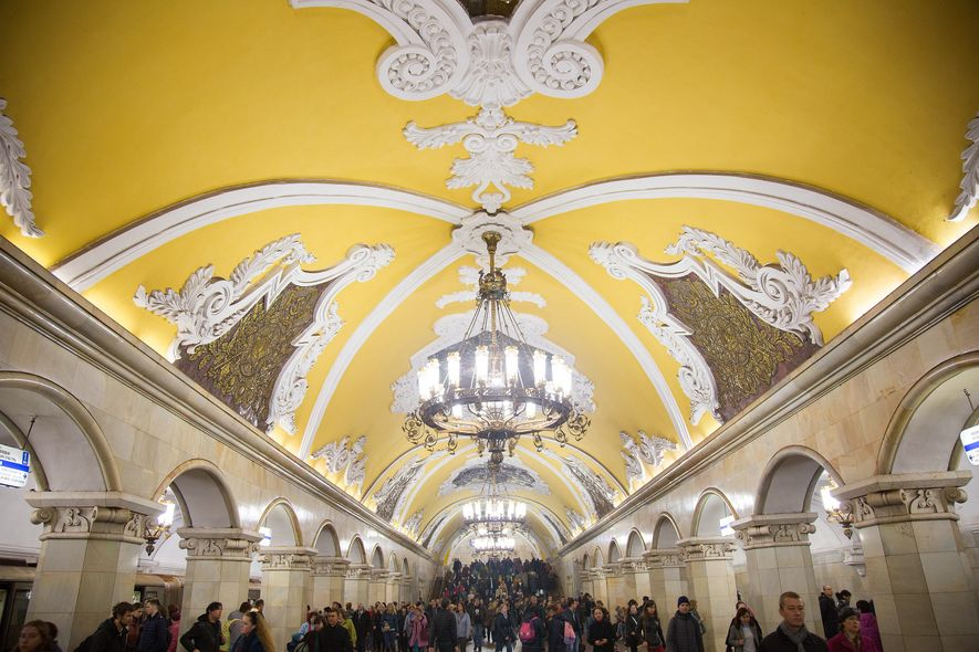 A Look at the Opulence that Lies Beneath Moscow