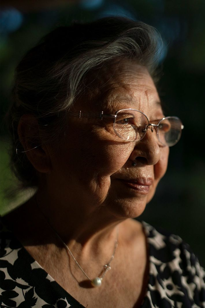 Koko Tanimoto Kondo was eight months old when the bomb hit less than a mile from ...