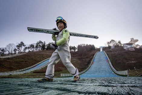 Korea: On piste in Pyeongchang