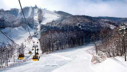 South Korea: Hitting the slopes