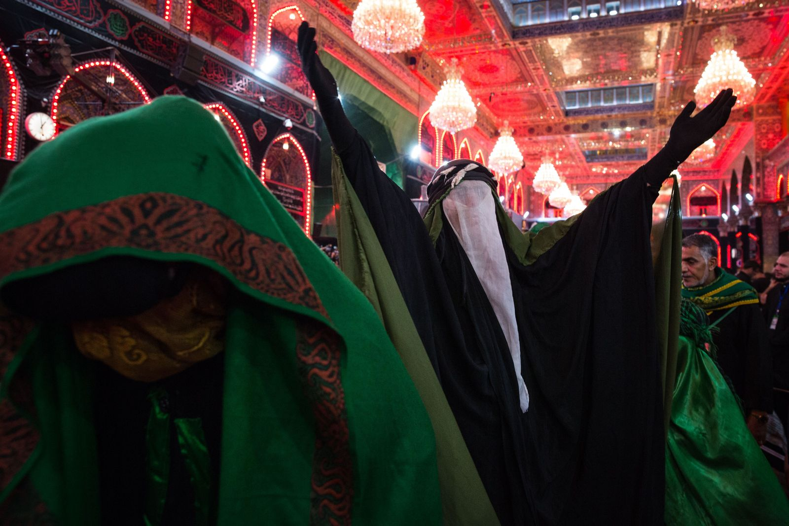 Dramatisations of the battle of Karbala re-enact events surrounding the killing of Husayn.