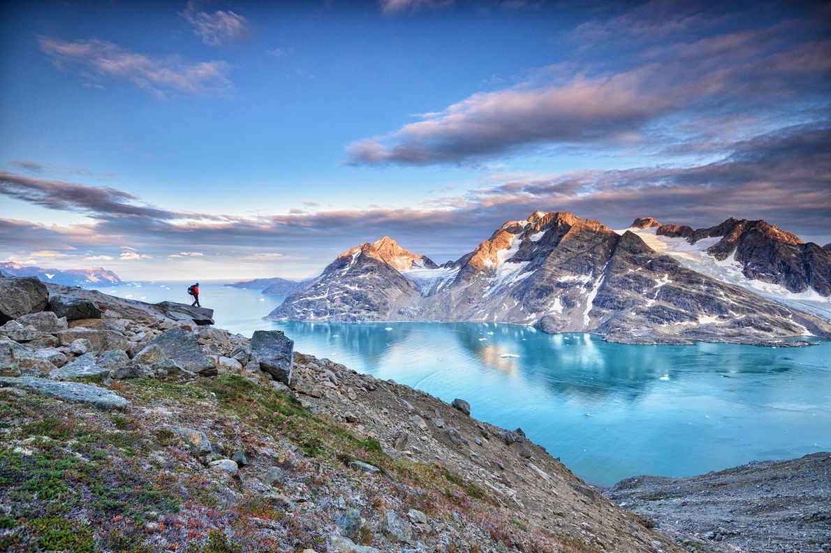 Each summer Greenland experiences nearly three months of endless sunshine. Thanks to this midnight sun, adventurers ...