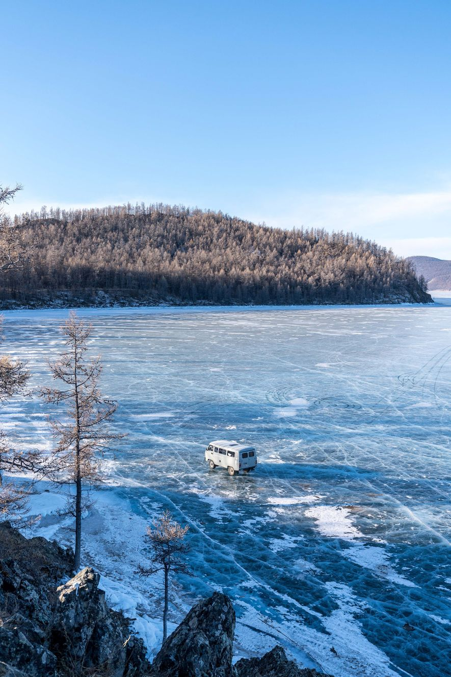 Temperatures can fall below minus 58 degrees Fahrenheit.