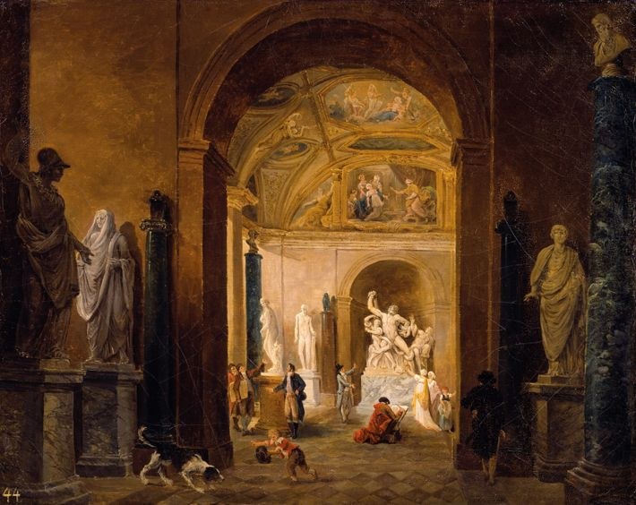 Laocoon at the Louve