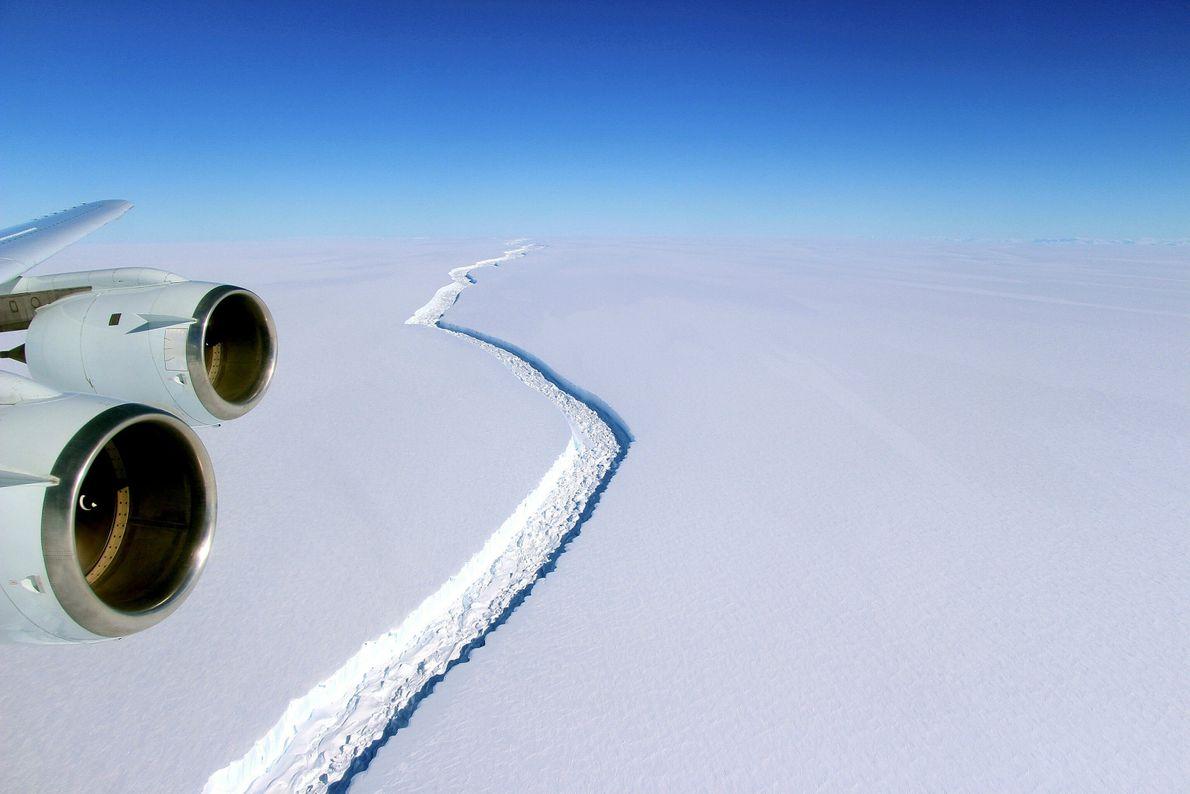 Larsen C Ice Shelf, Antarctica
