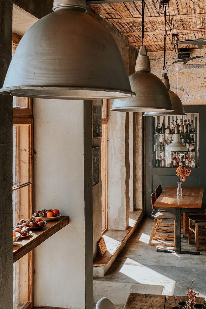 Goldingen Room, a restaurant in Kuldiga that serves wood-fired pizza.