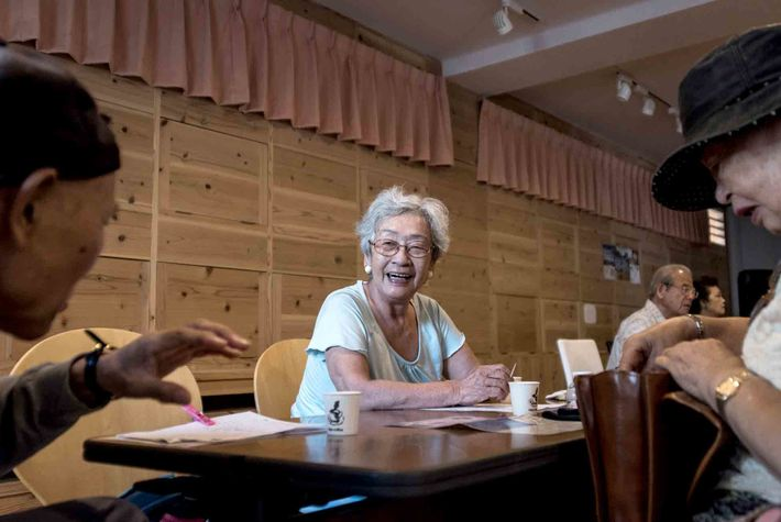 Residents in Naha, Okinawa, also tend to enjoy long lives filled with social outings.