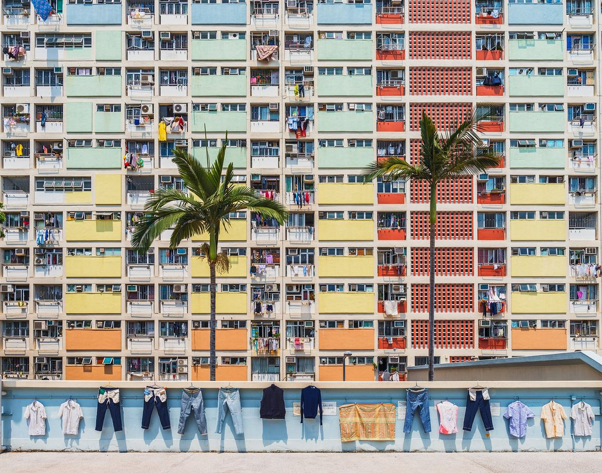 """Choi Hung estate, literally meaning """"the Village of Rainbow;"""" in Cantonese, is a neighbourhood with a ..."""