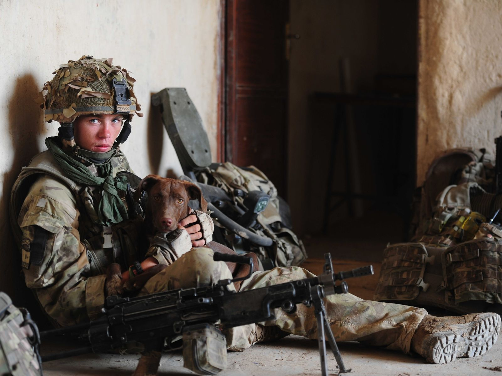 Lance Corporal Ross Mills, Afghanistan 2012.