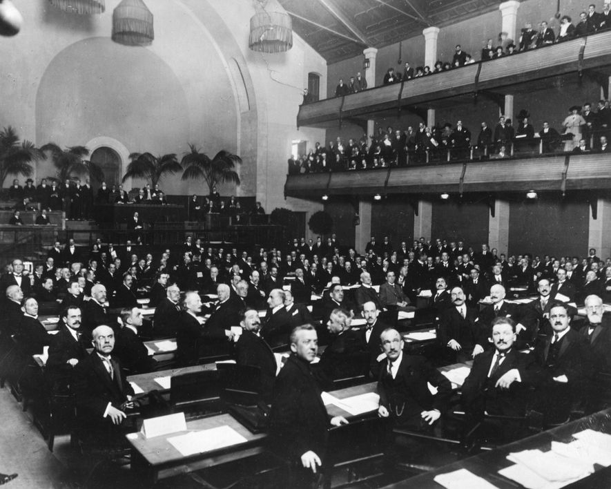 Why the League of Nations was doomed before it began