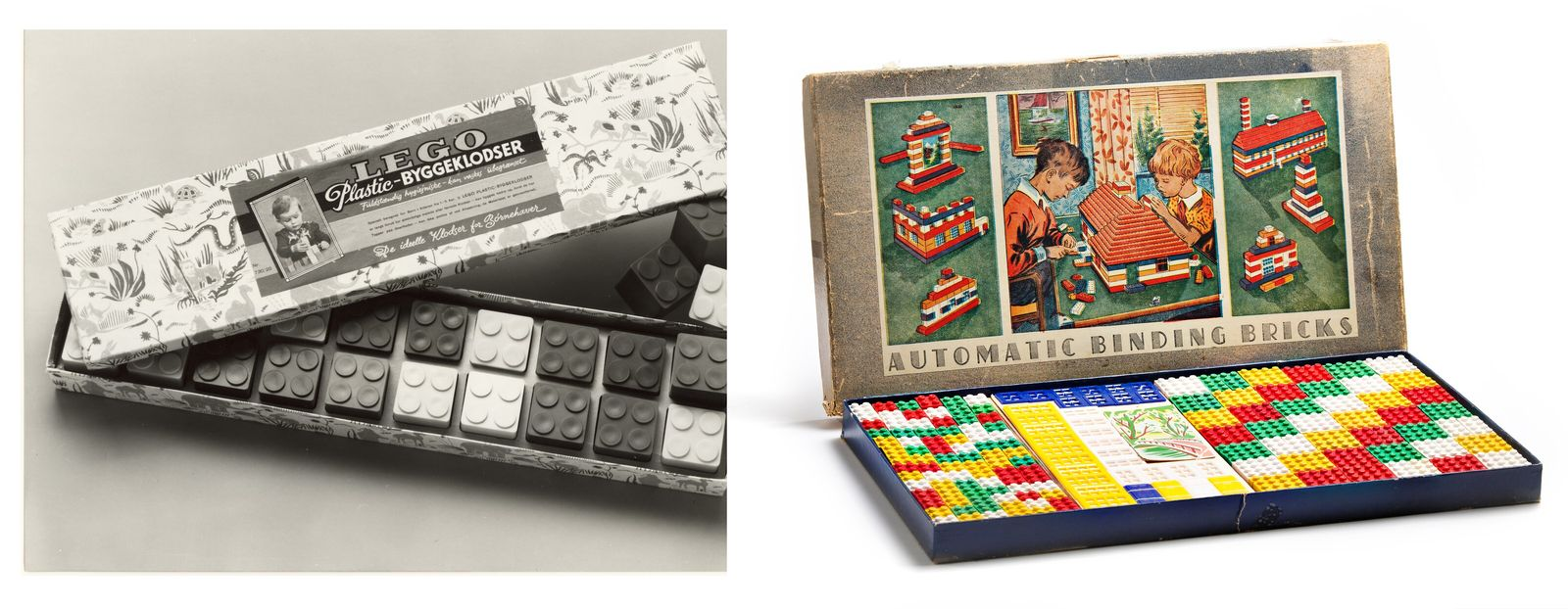 Early incarnations of LEGO included larger bricks for younger children as well as the smaller versions. ...