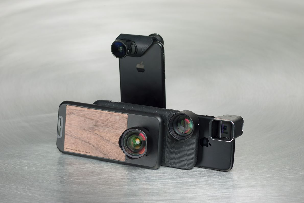 The best lenses for your smartphone are produced by Moment. These high-quality lenses lock onto specially ...