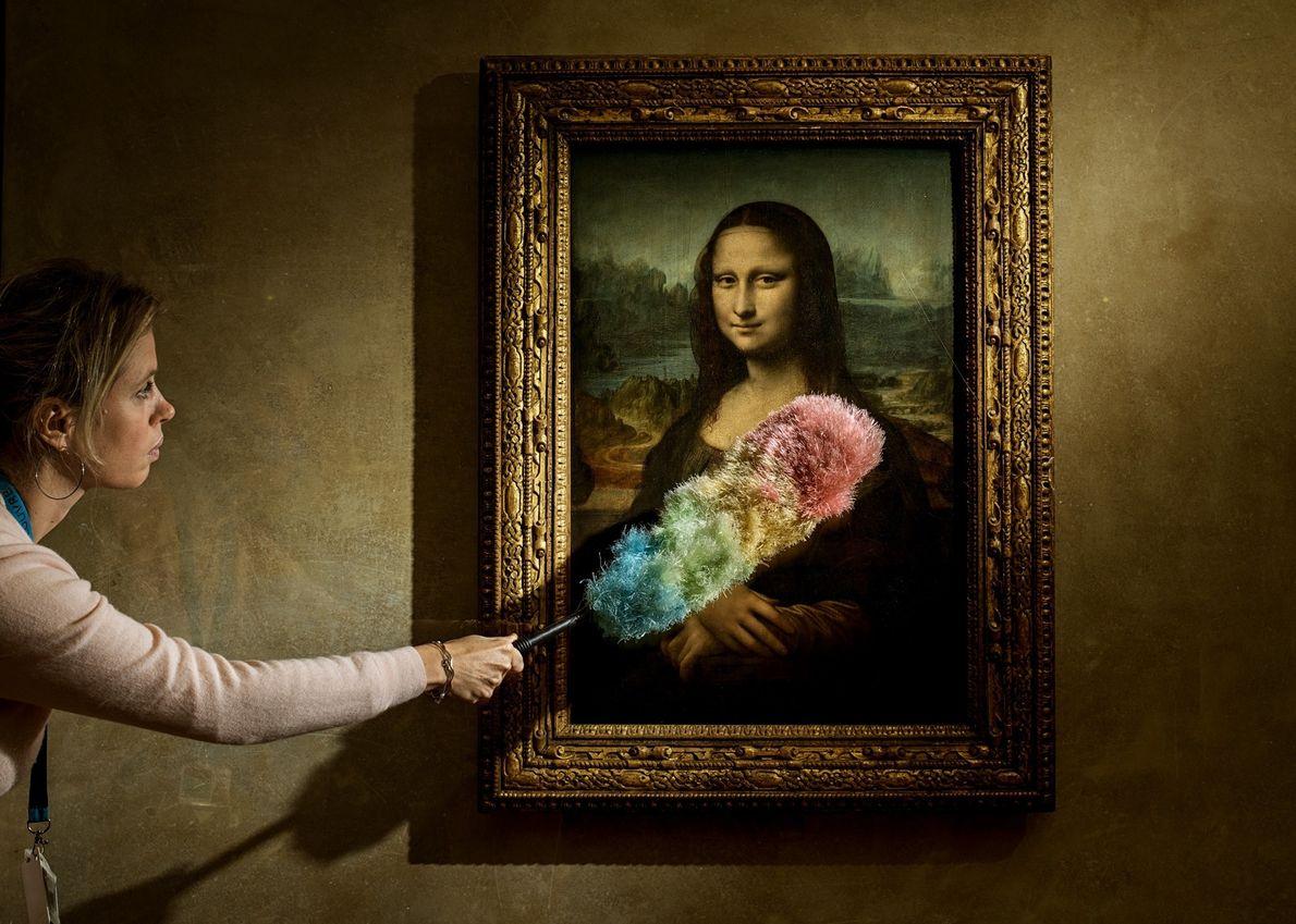 "Leonardo's ""Mona Lisa"" is believed to depict Lisa Gherardini, the wife of Francesco del Giocondo, a …"