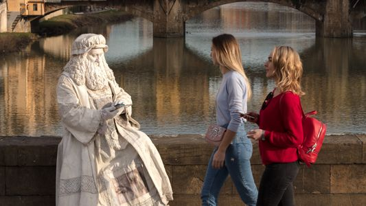See where Leonardo da Vinci still walks the streets