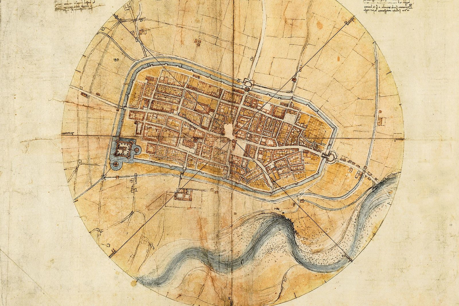 "The ""Imola Plan"" is preserved today in the Leonardiano Museum in Vinci, Italy, the artist's hometown. In ..."